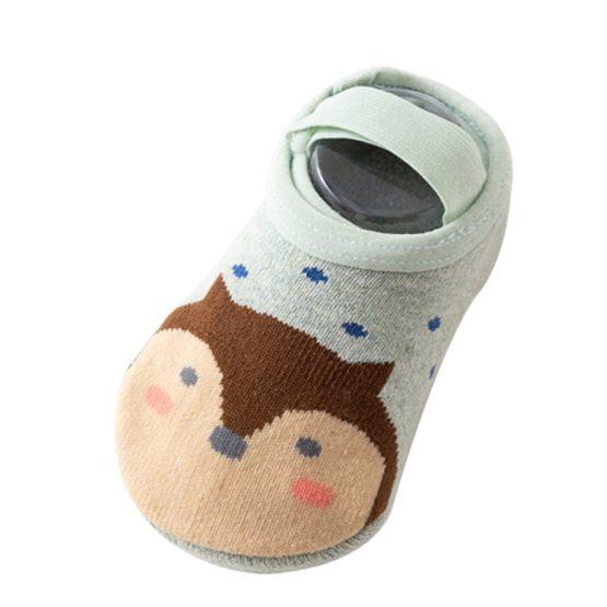 Meia infantil sapatilha desenhos com anti derrapante