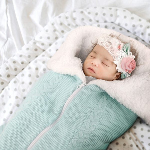 Saquinho de dormir felpudo